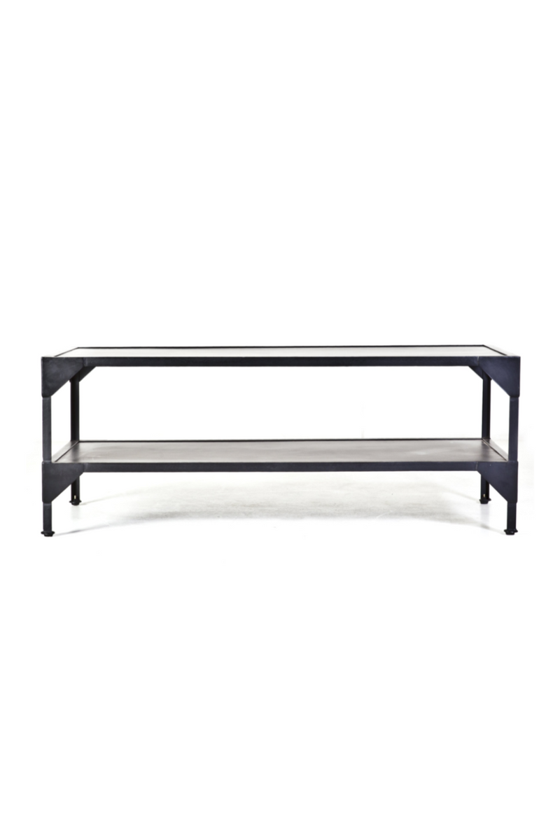 Black Metal Coffee Table | By-Boo Nozare | DutchFurniture.com