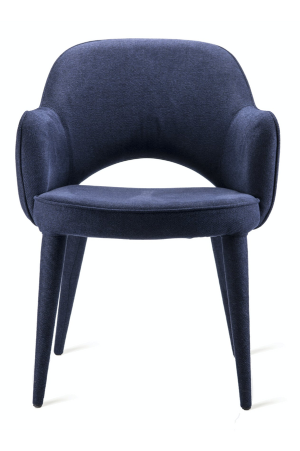 Blue Dining Armchair | Pols Potten Cosy | DutchFurniture.com