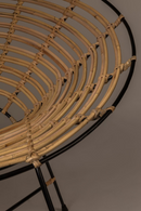 Round Rattan Accent Chair | Dutchbone Kubu | dutchfurniture.com