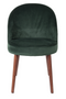 Green Velvet Dining Chairs (2) | Dutchbone Barbara | dutchfurniture.com