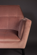 Pink Lounge Chair | Dutchbone Kate | dutchfurniture.com