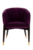 Purple Velvet Armchair | Dutchbone Dolly | DutchFurniture.com