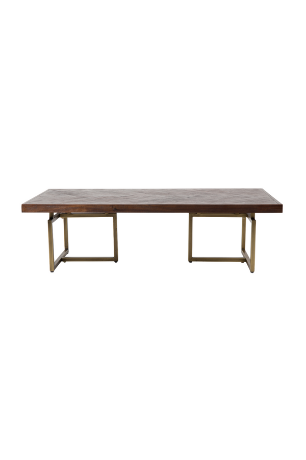 Antique Brass Coffee Table | Dutchbone Class | DutchFurniture.com