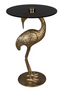 Gold Crane Bird End Table | Dutchbone Crane | DutchFurniture.com