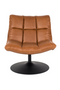 Brown Pedestal Accent Chair | Dutchbone Bar | dutchfurniture.com