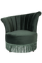 Green Fringe Accent Chair | Dutchbone Flair | DutchFurniture.com