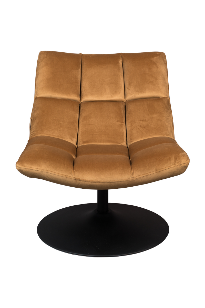 Golden Brown Pedestal Accent Chair | Dutchbone Bar | dutchfurniture.com