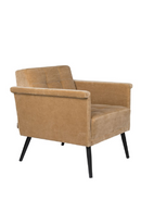 Camel Accent Armchair | Dutchbone Sir William | dutchfurniture.com