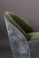 Green Scallop Accent Chair | Dutchbone Madison | DutchFurniture.com