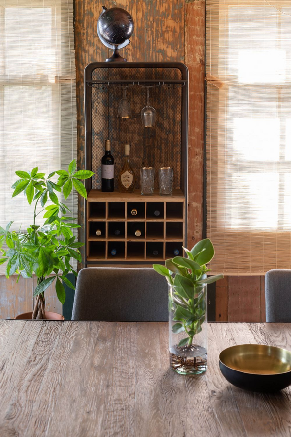Wooden Wine Cabinet | Dutchbone Vino | DutchFurniture.com