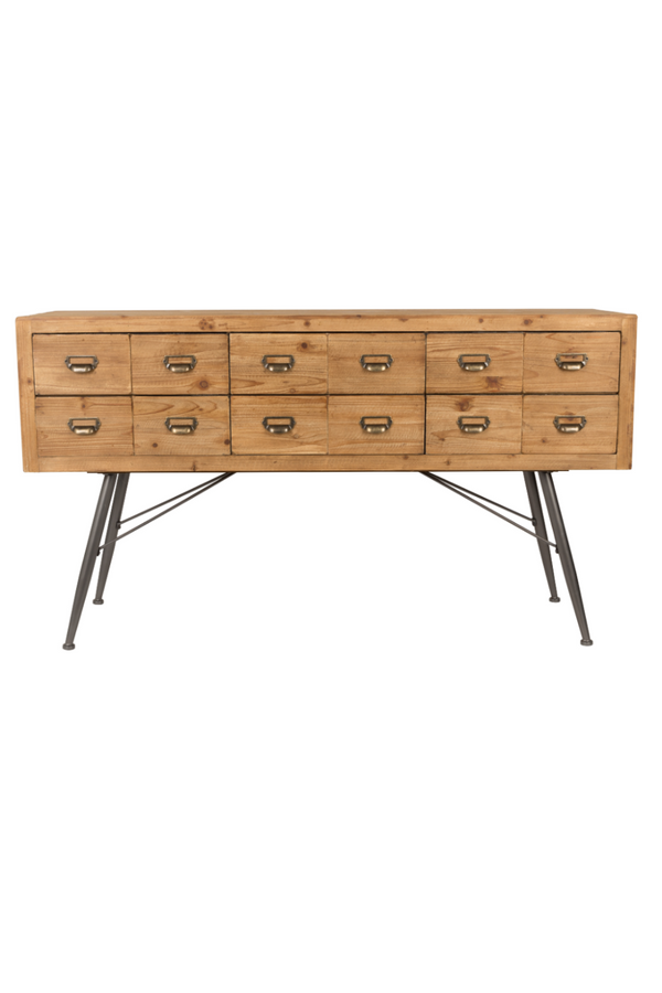 Wood Sideboard With Drawers | Dutchbone Six | dutchfurniture.com