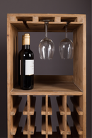 Tall Wooden Wine Cabinet | Dutchbone Claude | dutchfurniture.com