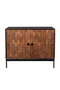 Carved Wood Sideboard | Dutchbone Chisel | dutchfurniture.com