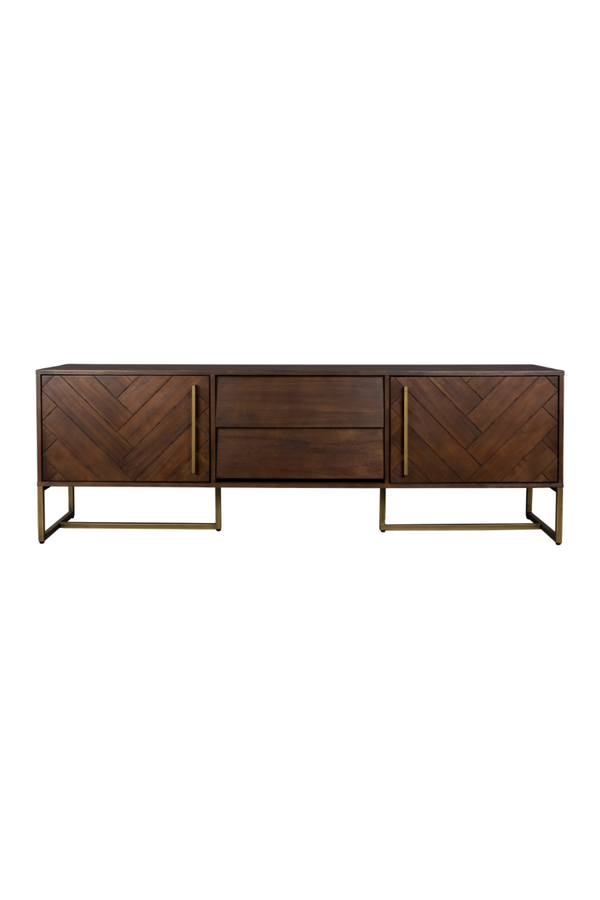 Acacia Wood Sideboard - Low | Dutchbone Class | DutchFurniture.com