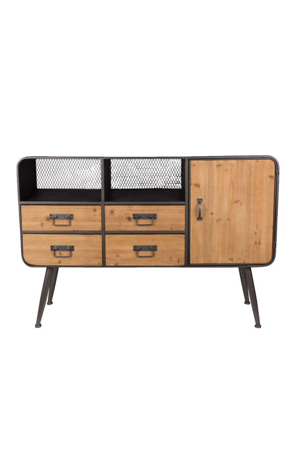 Natural Fir Wood Sideboard | Dutchbone Gin | dutchfurniture.com