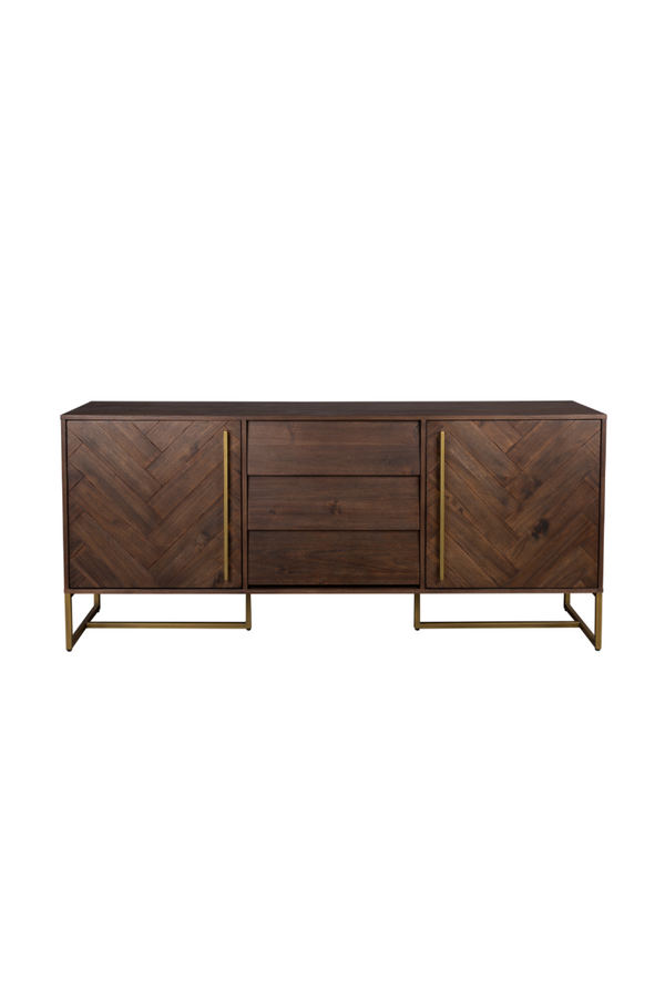 5 Compartment Wood Sideboard | Dutchbone Class | dutchfurniture.com