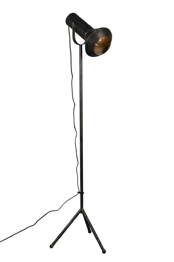 Black Spotlight Floor Lamp | Dutchbone Vox | DutchFurniture.com