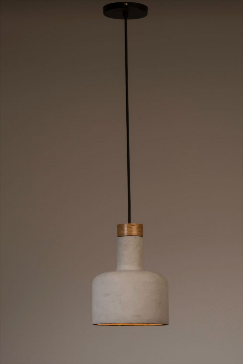 Gray Bottle Pendant Lamp | Dutchbone Cradle | DutchFurniture.com