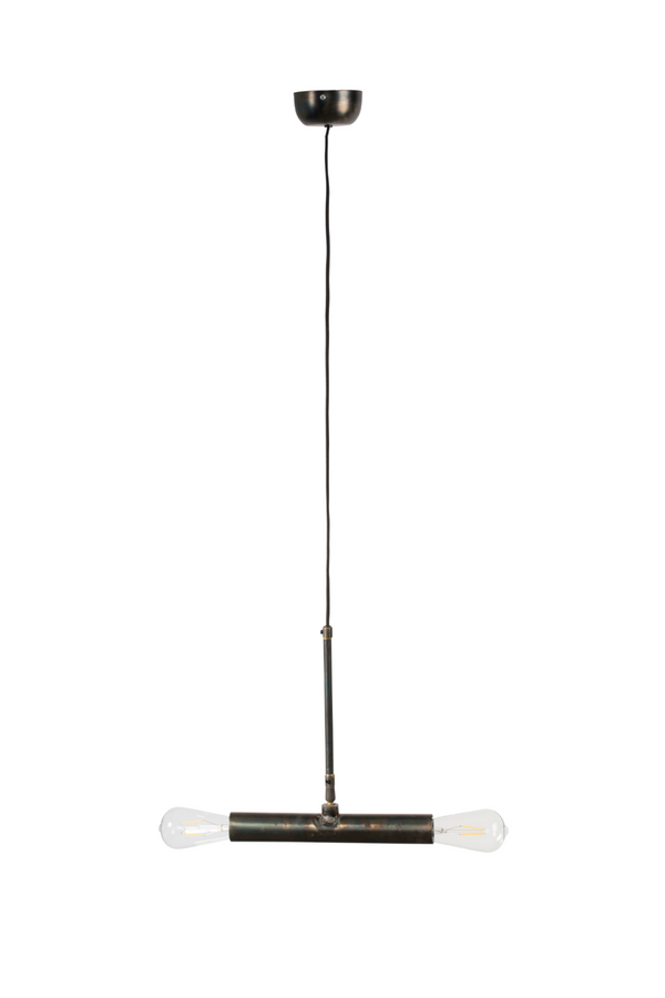 2-Light Linear Pendant Lamp | Dutchbone Doppio | DutchFurniture.com
