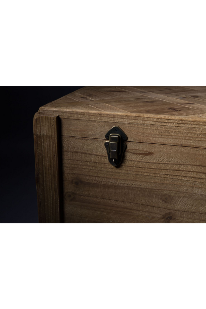 Brown Wood Trunk | Dutchbone Lon | dutchfurniture.com