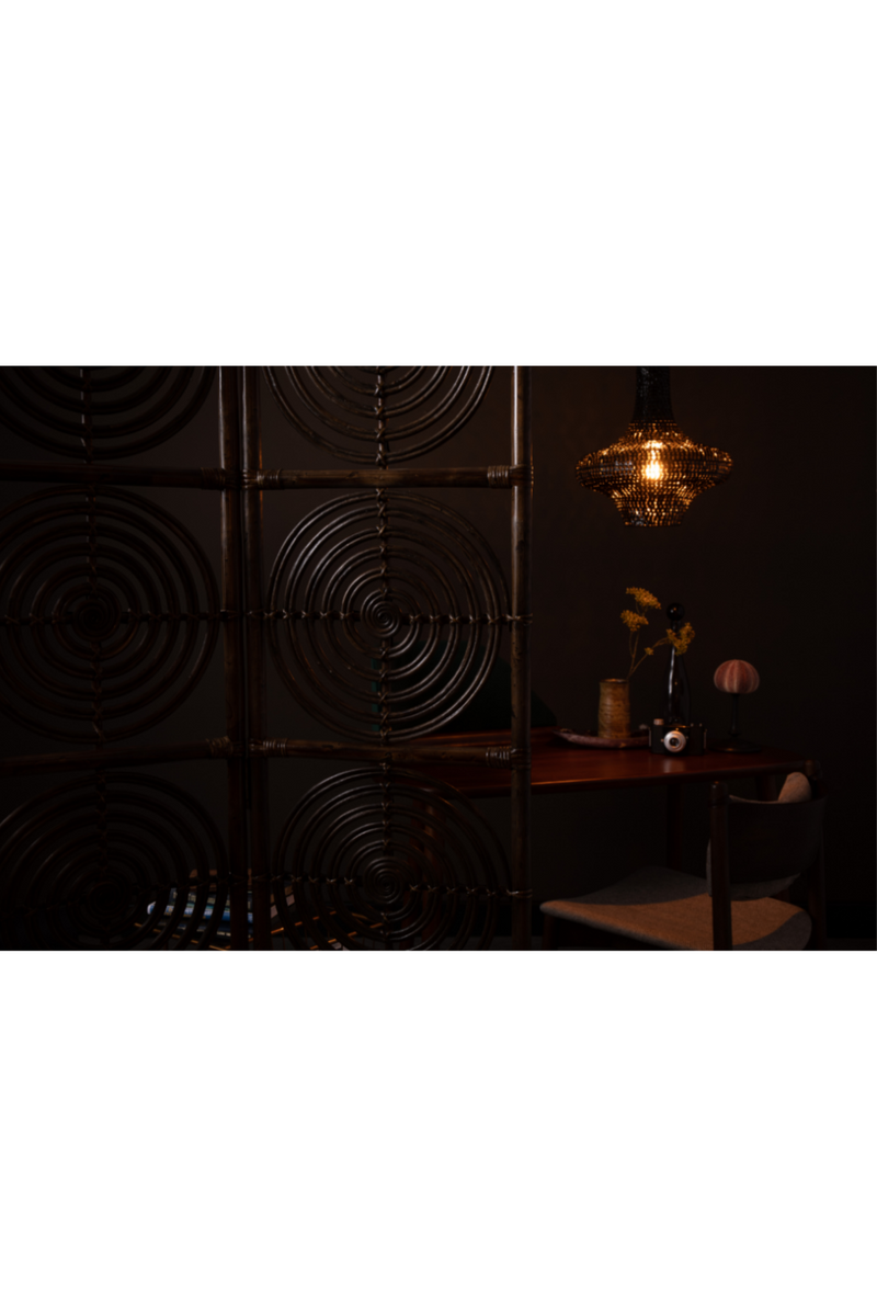 Brown Rattan Room Divider | Dutchbone Rumour | DutchFurniture.com