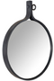Gray Round Wall Mirror M | Dutchbone Attractif | DutchFurniture.com