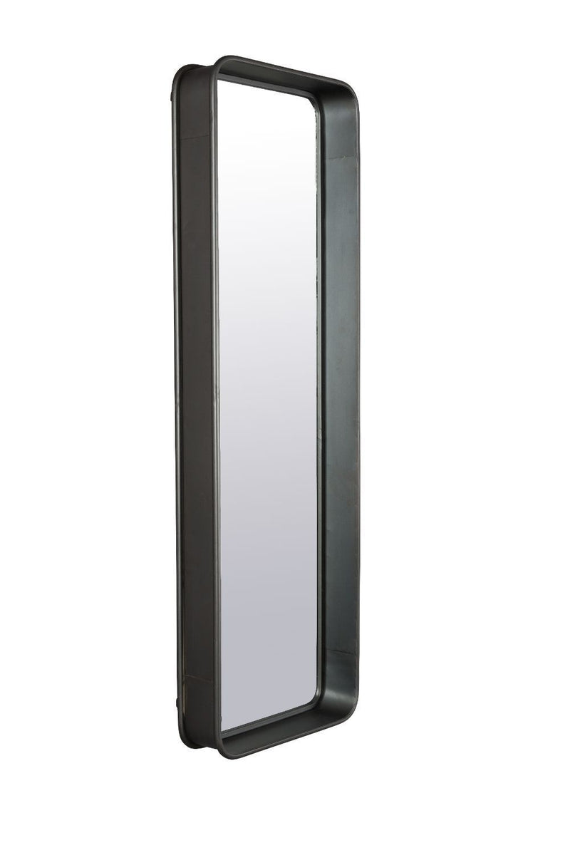 Black Rectangular Wall Mirror | Dutchbone Bradley | DutchFurniture.com