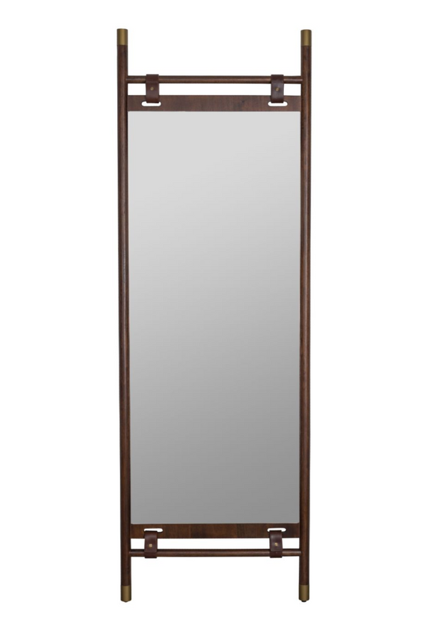 Brown Full Length Floor Mirror | Dutchbone Riva | DutchFurniture.com