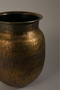 Round Antique Brass Vase | Dutchbone Baha | DutchFurniture.com