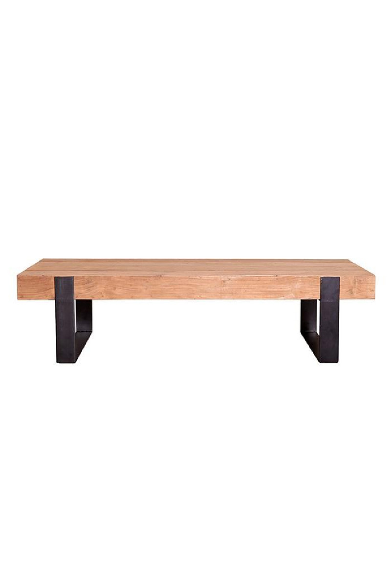 Recycled Teak Coffee Table | Eleonora Nouvelle Vie | dutchfurniture.com