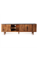 Wooden Marble Top Media Unit (L) | Carter | Dutchfurniture.com