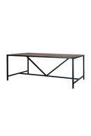 Wire Brushed Dining Table (M) | Eleonora Soho | dutchfurniture.com