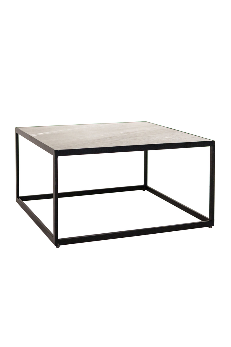 Square Brown Coffee Table (M) | Eleonora Marble | dutchfurniture.com