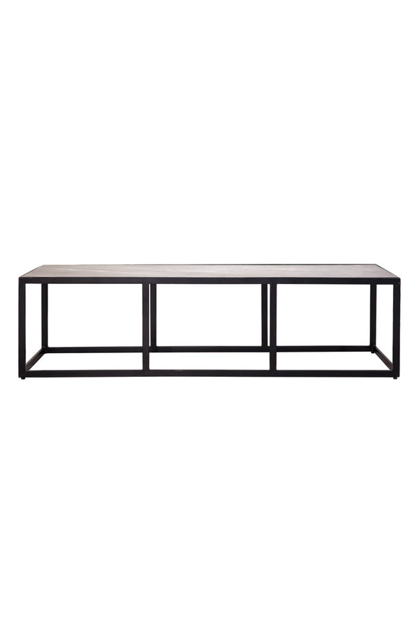 Rectangular Brown Coffee Table L | Eleonora Marble | dutchfurniture.com