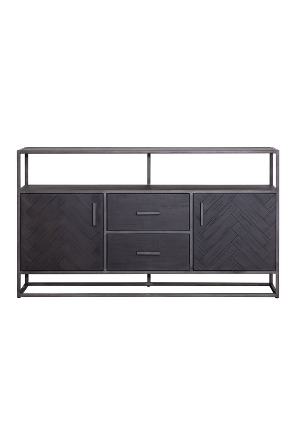 Black Wooden Dresser (M) | Eleonora Hudson | dutchfurniture.com