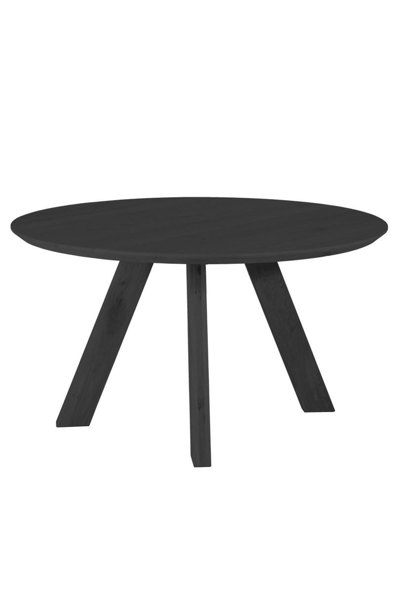 Round Wooden Dining Table | Eleonora Northern | dutchfurniture.com