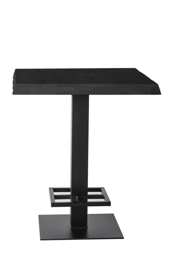 Industrial Wooden Counter Table L | Eleonora Misty