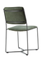 Olive Green Leather Chair | Eleonora Mees | dutchfurniture.com