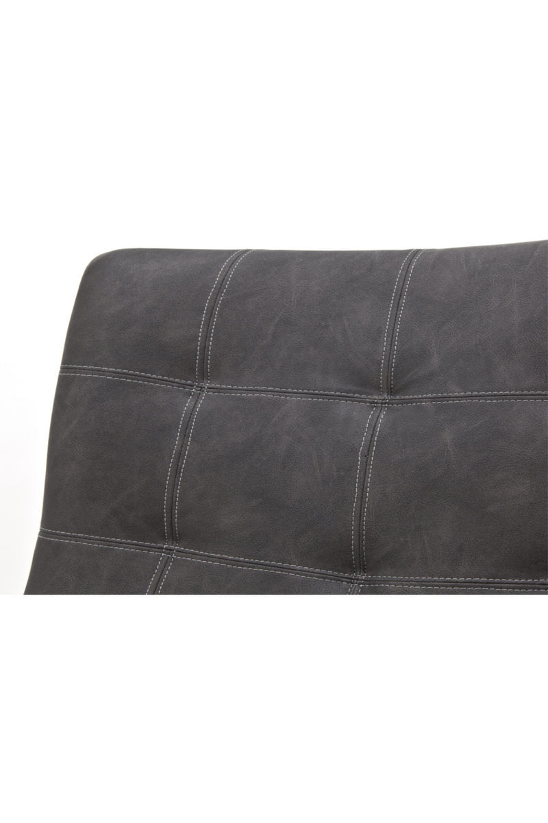 Dark Grey Leather Armchair | Eleonora Neba | dutchfurniture.com