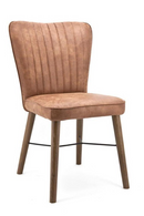 Cognac Leather Dining Chair | Eleonora Chiba | dutchfurniture.com