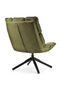 Olive Green Swivel Chair | Eleonora Daan | dutchfurniture.com