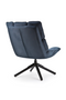 Blue Swivel Lounge Chair | Eleonora Daan | dutchfurniture.com