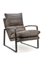 Dark Brown Lounge Chair | Eleonora Lex | DutchFurniture.com