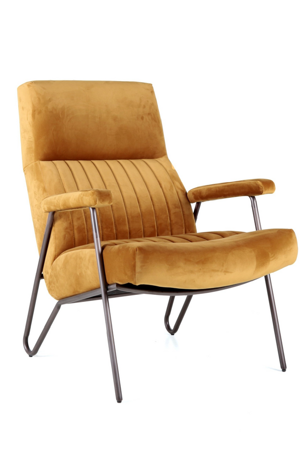 Amber Velvet Armchair | Eleonora William | dutchfurniture.com