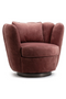 Fuchsia Velvet Swivel Chair | Eleonora Maria | dutchfurniture.com