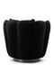 Black Velvet Swivel Chair | Eleonora Maria | dutchfurniture.com