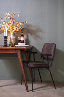 Dark Grey Dining Chair | Eleonora Sonny | dutchfurniture.com