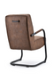 Brown Leather Lounge Chair | Eleonora Pien | dutchfurniture.com