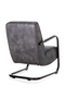 Dark Grey Lounge Chair | Eleonora Pien | dutchfurniture.com