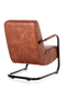 Cognac Leather Lounge Chair | Eleonora Pien | dutchfurniture.com